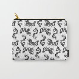 Dragon Pattern Carry-All Pouch