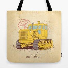 T 100 Tote Bag