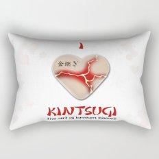 i love kintsugi Rectangular Pillow