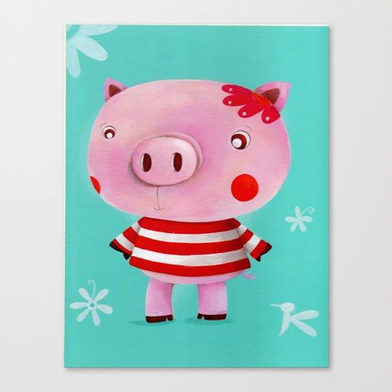 Piglet Canvas Print