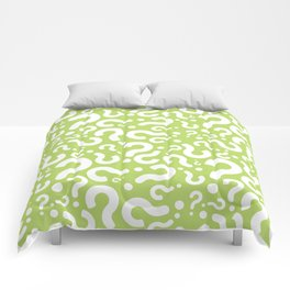 Question Mark Pattern Comforters