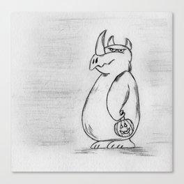 Rhino Monster Canvas Print