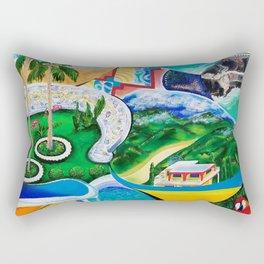 Themes of San Juan, Puerto Rico Rectangular Pillow