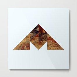 COAL MOUNTAIN Metal Print