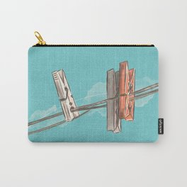 Boho Clothespin Carry-All Pouch