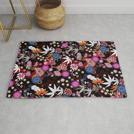 Kimono Black Rug
