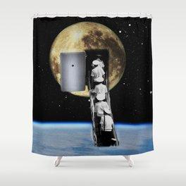 Moon trip Shower Curtain