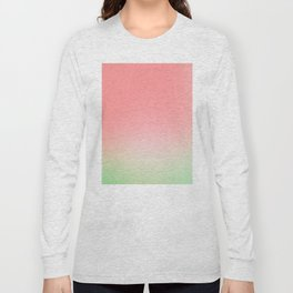Watermelon Gradient Long Sleeve T-shirt