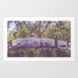 Beverly Hills House Art Print