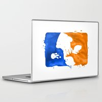 league Laptop & iPad Skins featuring Major Ink League by Jango Snow