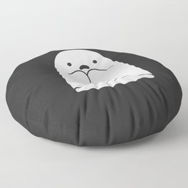 The Horror / Scared Ghost Floor Pillow