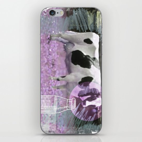 Milk comes from a bottle iPhone & iPod Skin