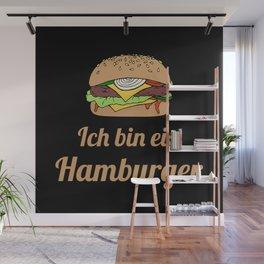 Ich bin ein Hamburger Wall Mural