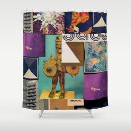 Interface 5 Shower Curtain