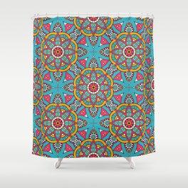 Amina Print Shower Curtain