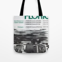 Vintage 1964 Gran Turismo Poster Tote Bag