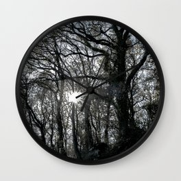 The obscure tree Wall Clock