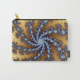 Fractal Pinwheel Carry-All Pouch