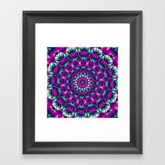 Summer Mandala 8 Framed Art Print