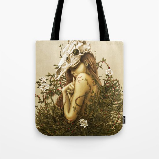 Deer secret. Tote Bag