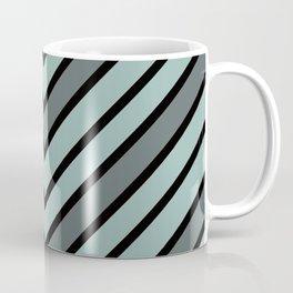 Chevron Shades of Gray & Black Coffee Mug