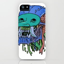Masked Troll iPhone Case
