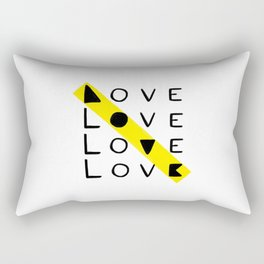 LOVE yourself - others - all animals - our planet Rectangular Pillow