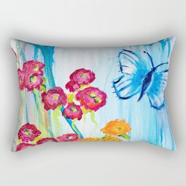 Beautiful Blossoms Rectangular Pillow