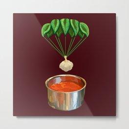 Italian Garlic Basil Tomato Sauce  Metal Print