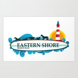 Eastern Shore - Maryland. Art Print