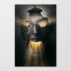 The Screaming One Canvas Print