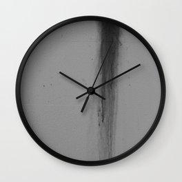 Dark Smear Wall Clock