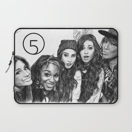 Fifth Harmony Group Drawing Laptop Sleeve
