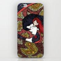 depression iPhone & iPod Skins featuring Depression Repression by Danielle Quackenbush