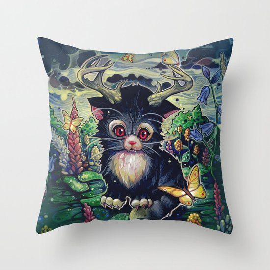 """Hey Captian!"" Throw Pillow"