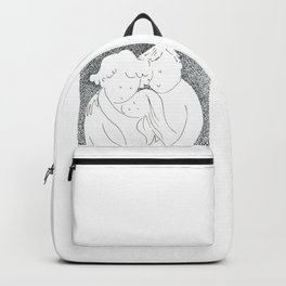 Family portrait | Ink and watercolor by asillustrations Backpack