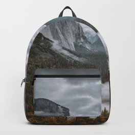Misty Tunnel View Backpack