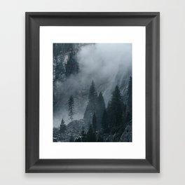 Time thief Framed Art Print