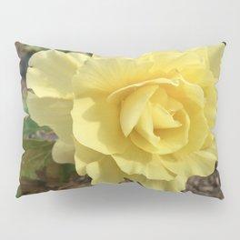 Yellow Rose Pillow Sham