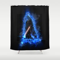 vader Shower Curtains featuring Vader by Robin Curtiss