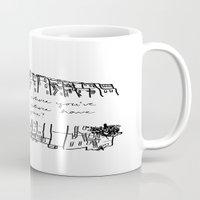 baltimore Mugs featuring Baltimore by Lasafro