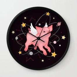 Piggy Year Wall Clock