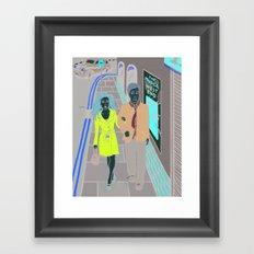 Neverwhere Framed Art Print