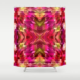 Popping Out! Shower Curtain