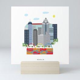 Atlanta Mini Art Print