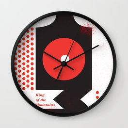 King of the Mountains, Abstract 1 Wall Clock