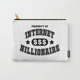 Internet Nillionaire Carry-All Pouch