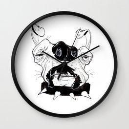 Ugly Ass Dog Wall Clock