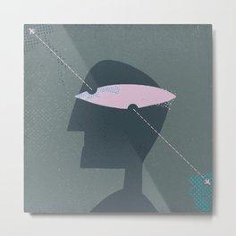 eyehead Metal Print