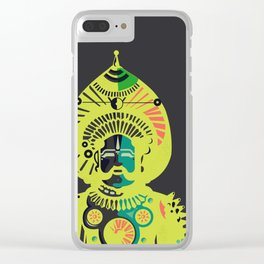Yakshagana Clear iPhone Case